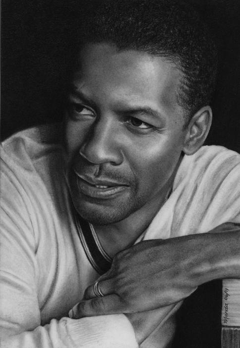 Denzel Washington by manda